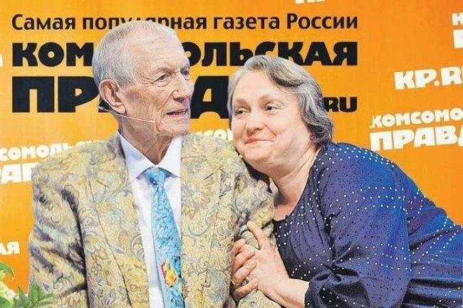 Евгений Евтушенко и Мария Новикова