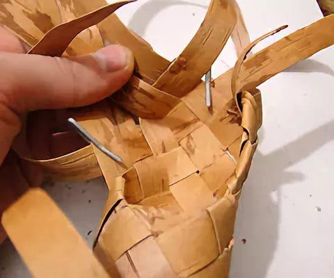 лапти - их плетение