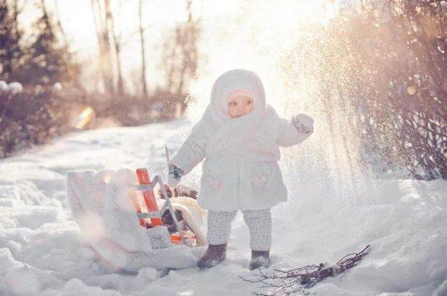 дети и мороз