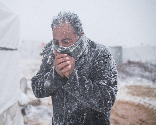 Почему на холоде у человека появляется дрожжь?