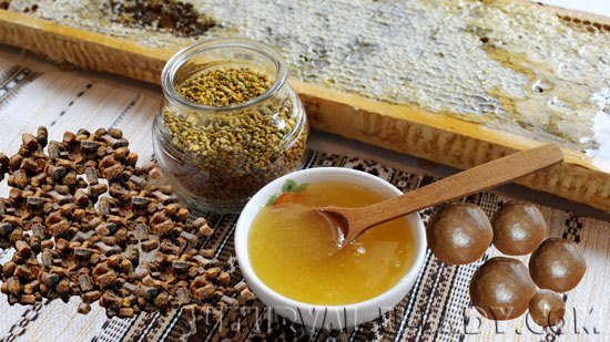 медовые продукты