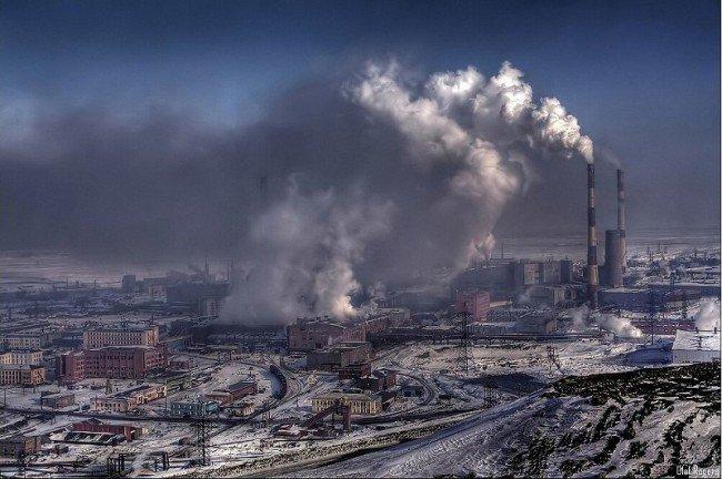 Норильск - самый грязный город в РФ