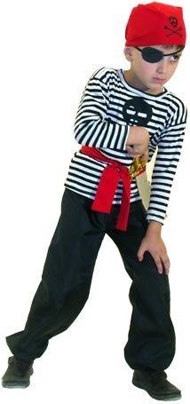 Костюм пирата для мальчика своими руками на скорую руку фото