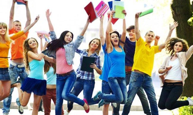 Молодёжь перед поступлением в ВУЗ.