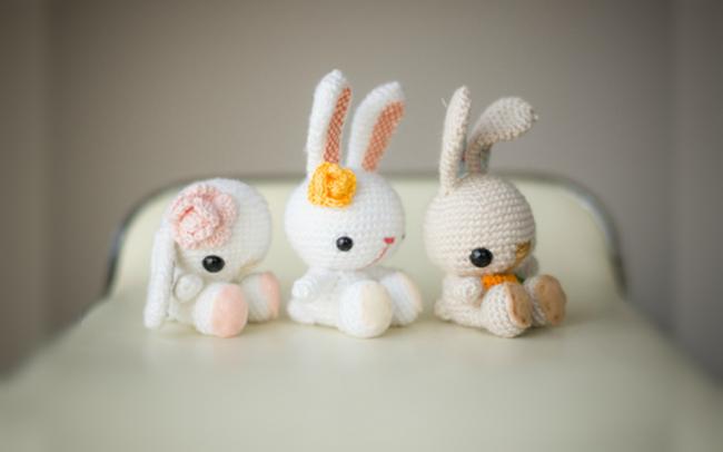 Как связать зайца амигуруми крючком схема