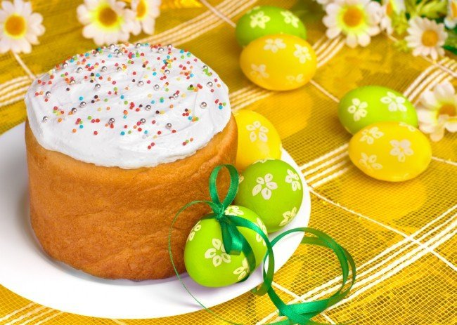Можно ли освещенные яйца и кулич после Пасхи отнести на могилу?