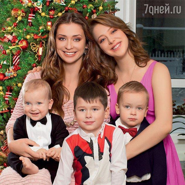 Мария Ситтель и дети
