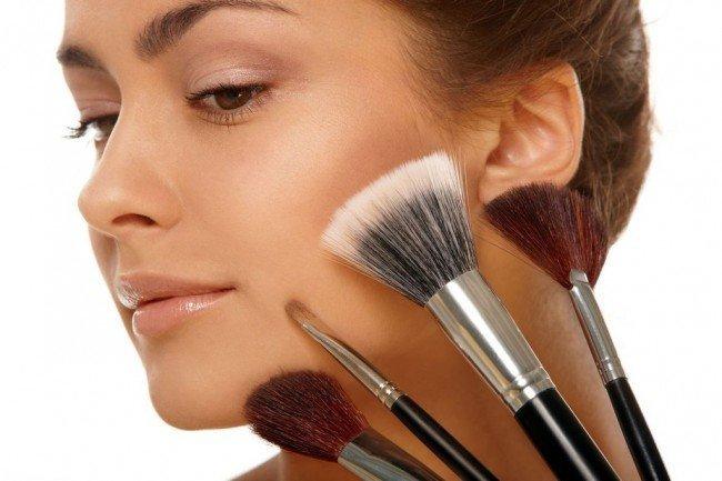 макияж лица - правила нанесения