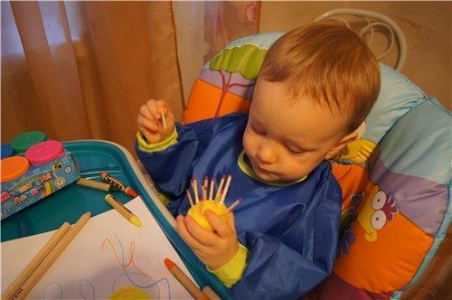 Творческие занятия с малышами
