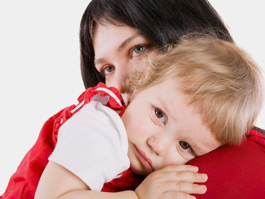 мама и малыш и детский садик