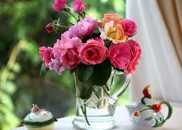 Как продлить жизнь букету роз