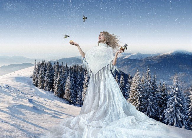 Можно сказать, что зиму Пушкин изобразил как живое существо? Как доказать?