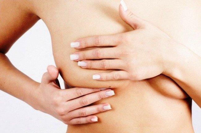 Самодиагностика груди.