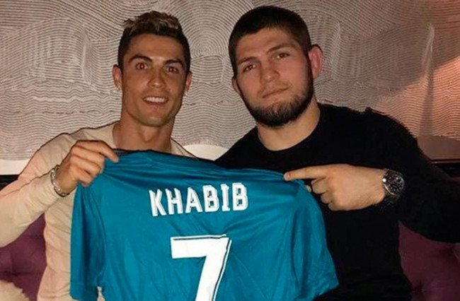 Хабиб и Роналду