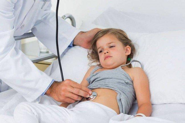 Ребенок ротавирусная