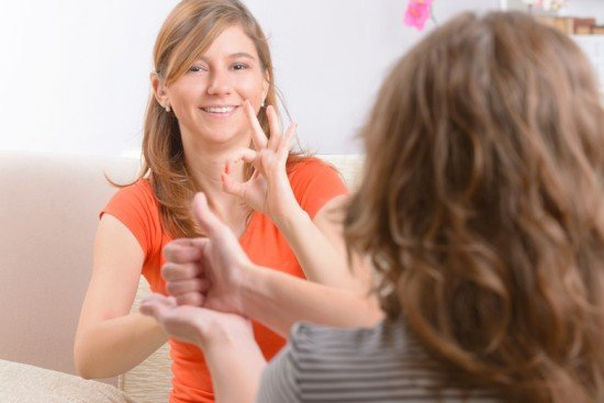 Невербальное общение глухонемых