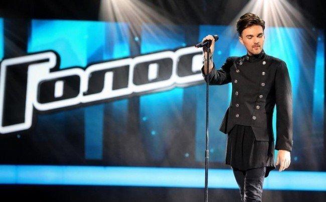 Александр Панайотов на шоу Голос