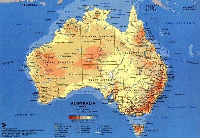 баобабы и применение их в 19 веке в Австралии